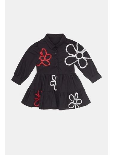 BG Baby Kız Bebek Siyah Elbise 20Fw0Bg2912 Siyah